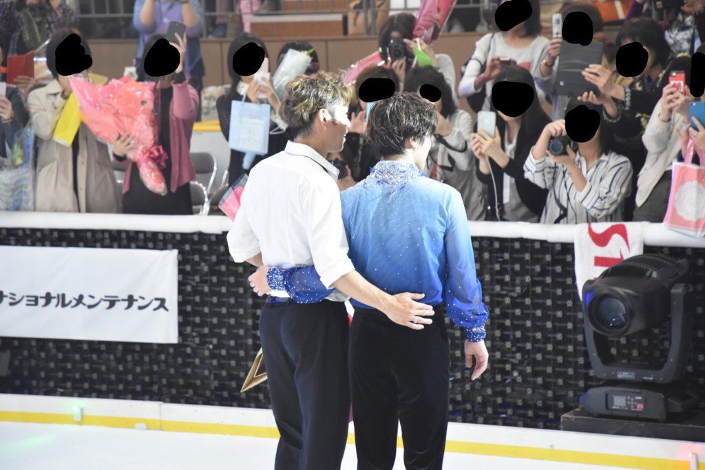 高橋大輔選手&宇野昌磨選手3